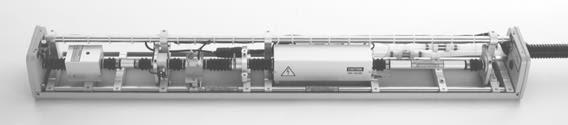 Spectron laser rail