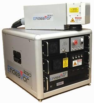 Endeavor RETRO fiber laser marking system