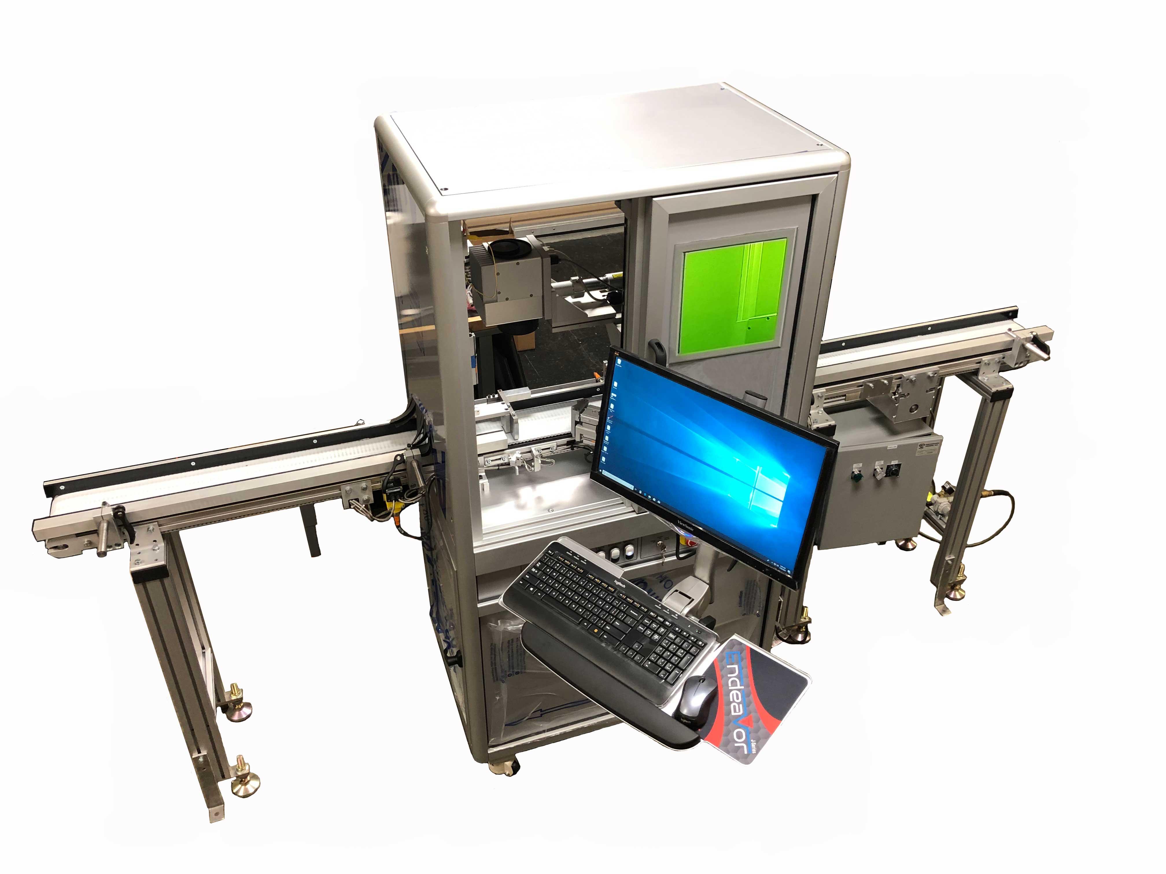 Fiber-laser-Conveyor